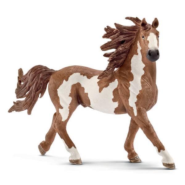 Pinto Stallion Figurine
