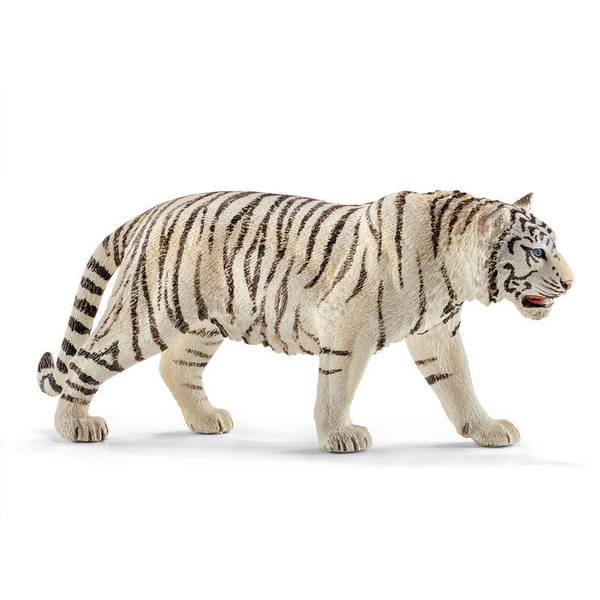 Tiger White Figurine