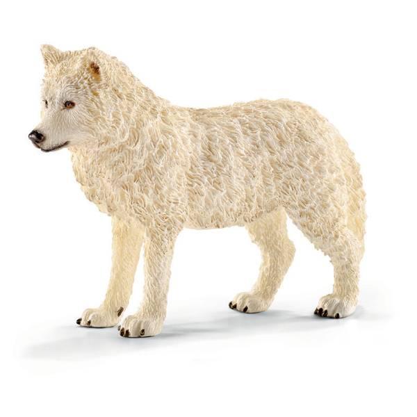 Arctic Wolf Figurine