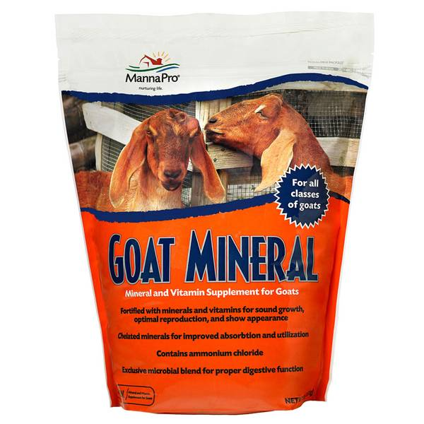 Goat Mineral & Vitamin Supplement
