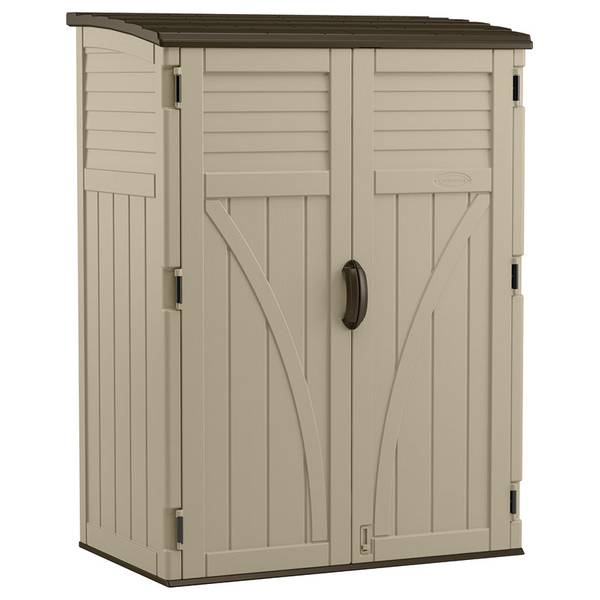 Suncast Vertical Outdoor Storage Shed