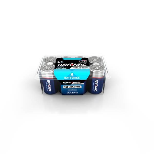 Alkaline Batteries 8-Pack