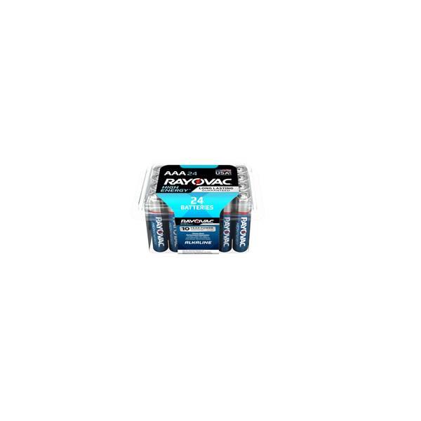 Alkaline AAA Batteries 24-Pack