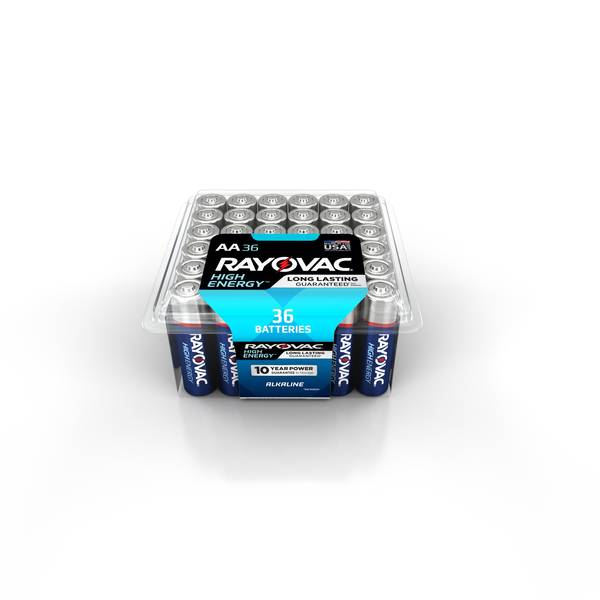 Alkaline AA Batteries 36-Pack