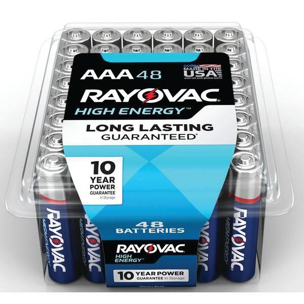 Alkaline Pro-Pack AAA Batteries 48-Pack