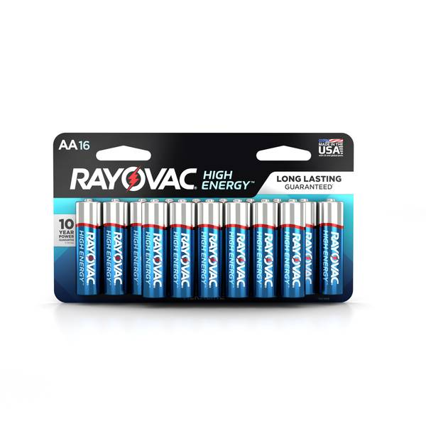 """AA"" Alkaline Batteries - 16 Pack"