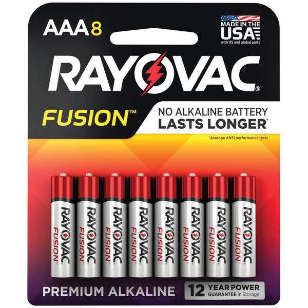 """Fusion """"AAA"""" Alkaline Batteries"""