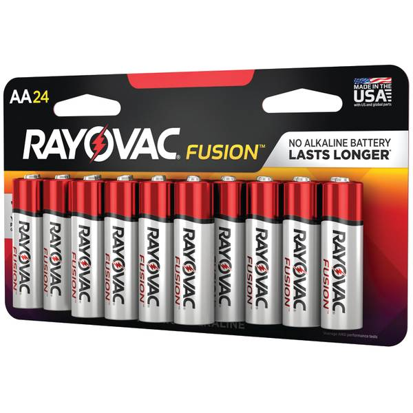AA High-Performance Alkaline Batteries 24-Pack