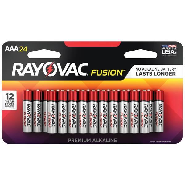 """AAA"" High-Performance Alkaline Batteries 24 Pack"