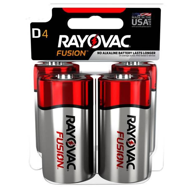 D Fusion Batteries 4-Pack
