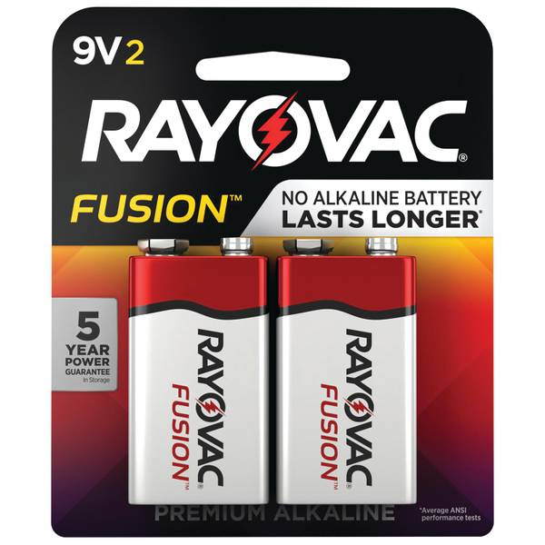 Fusion 9V Battery 2-Pack