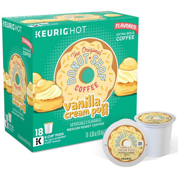 Vanilla Cream Puff K-Cups