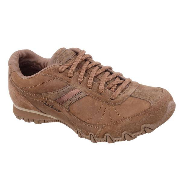 skechers s brown leather systematic oxford relaxed