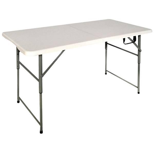 Superb Bi Fold Utility Table Ncnpc Chair Design For Home Ncnpcorg