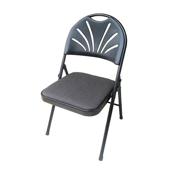 Plastic Development Group Fabric Padded Folding Chair