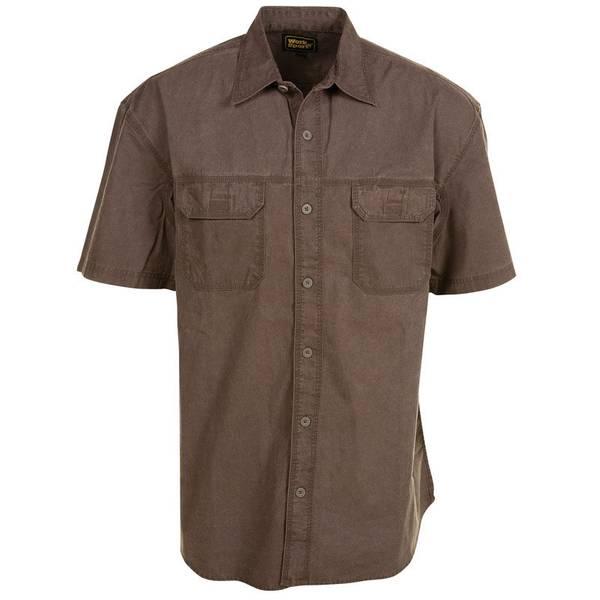 Men's Short Sleeve No Stain Outdoorsman Shirt