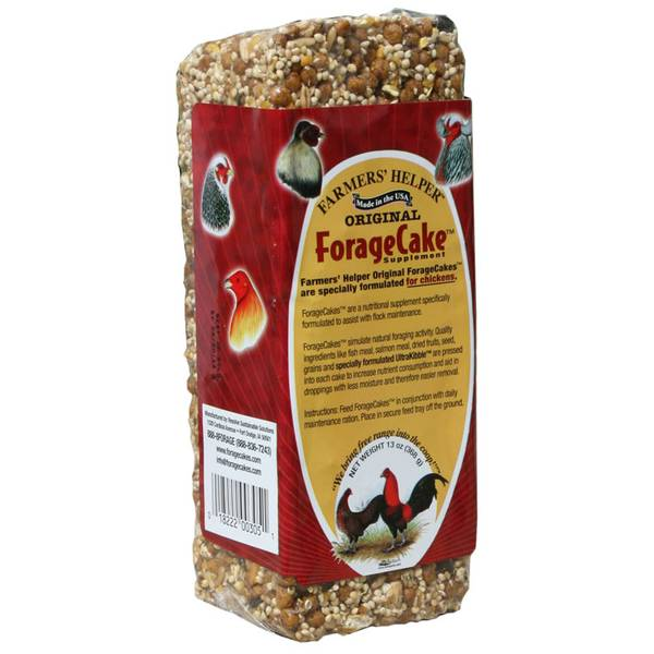 Foragecake Poultry Supplement