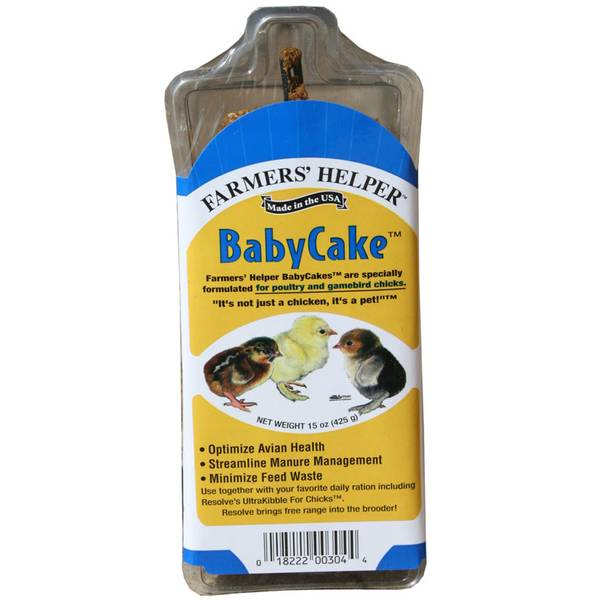 Baby Cake Poultry Supplement