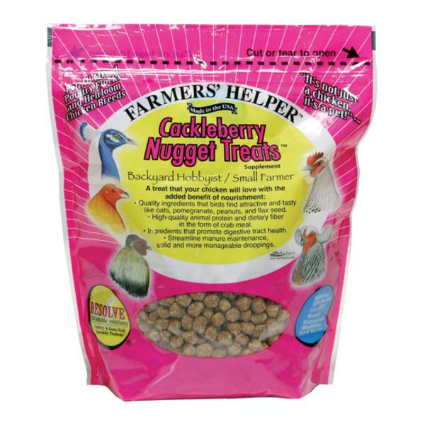 Cackleberry Nugget Treat Poultry Supplement