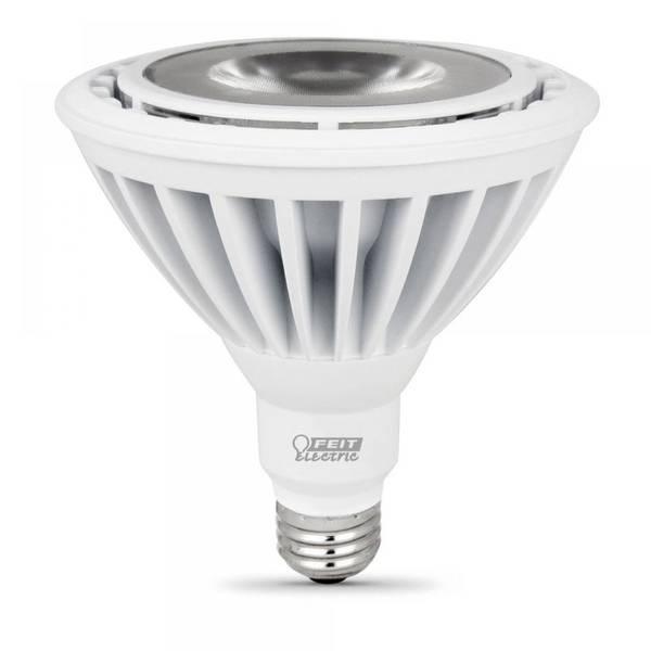 Outdoor Flood Light Bulbs Menards: FEIT Electric 120 Watt Replacement 3000K Dimmable LED PAR38