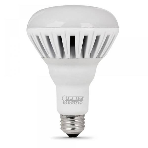 20w Led Dimmable: FEIT Electric 20W/85W Replacement 2700K Dimmable LED BR30