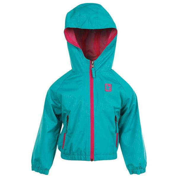 Infant Girl's Seafoam Athletic Pop Jacket