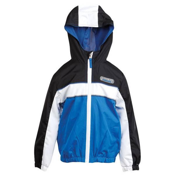 Boy's Royal Colorblock Athletic Jacket