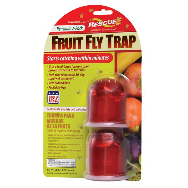 Reusable Fruit Fly Trap 2 Pack