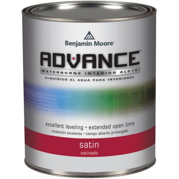Benjamin moore advance waterborne satin paint - Advance waterborne interior alkyd paint ...