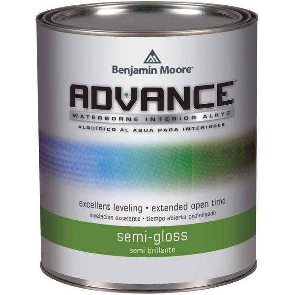 benjamin moore advance waterborne semi gloss paint. Black Bedroom Furniture Sets. Home Design Ideas