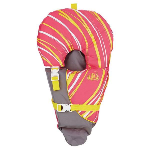 Pink Infant Baby-Safe Life Vest