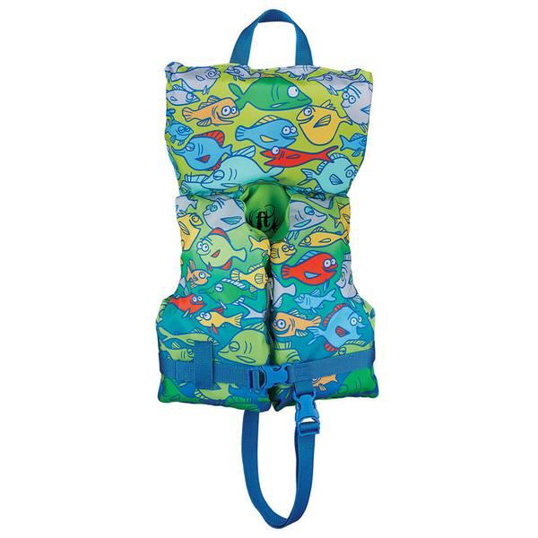 Full Throttle Infant Baby Safe Fish Print Life Vest