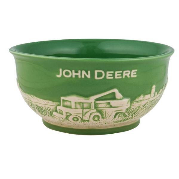 John Deere Bowl : John deere small stoneware bowl