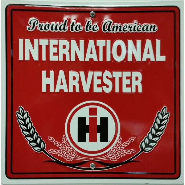 International harvester tin wall decor sign assortment for International wall decor