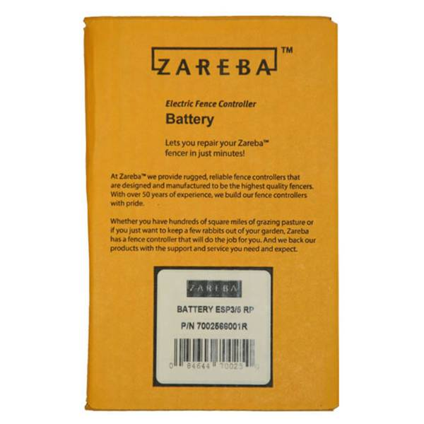 Zareba Solar Fencer Replacement Battery Asb5 2 Blain S