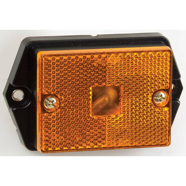Amber Side Marker With Reflex