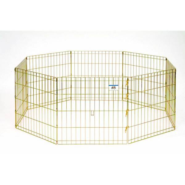 "24"" Metal Pet Exercise Pen"