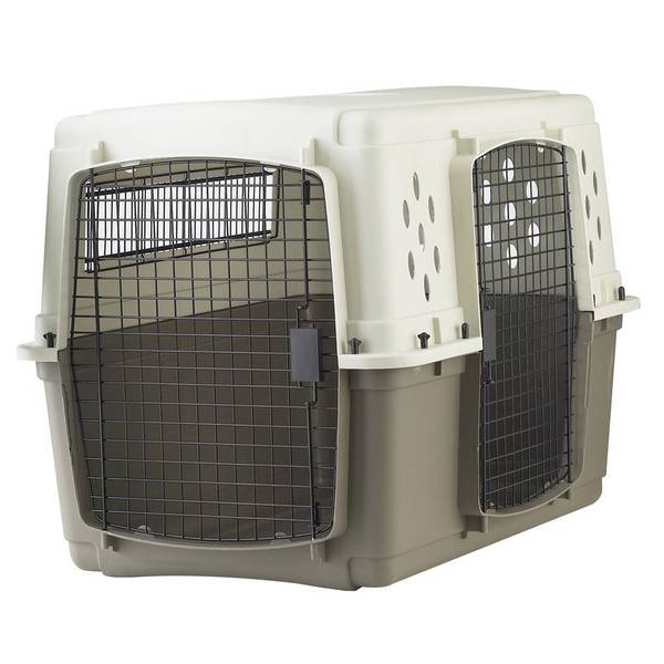 Pet Lodge Double Door Pet Crate