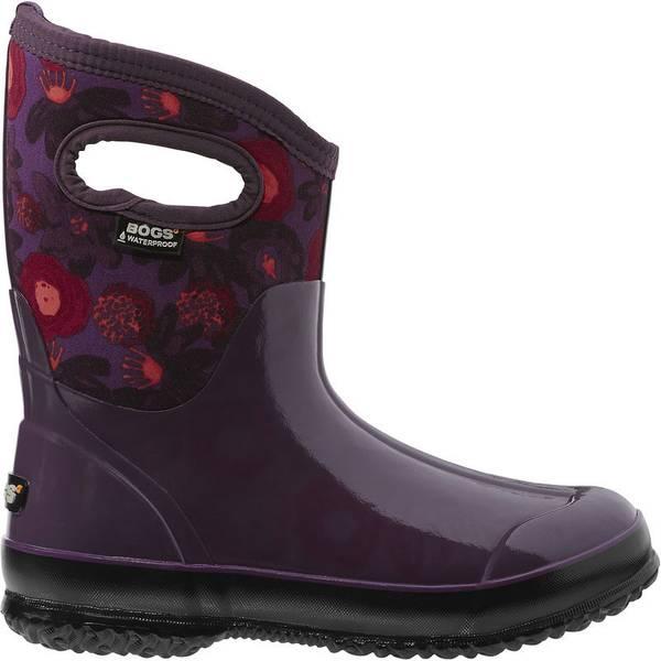 Women's  Classic Watercolor Mid Rubber Rain Boots