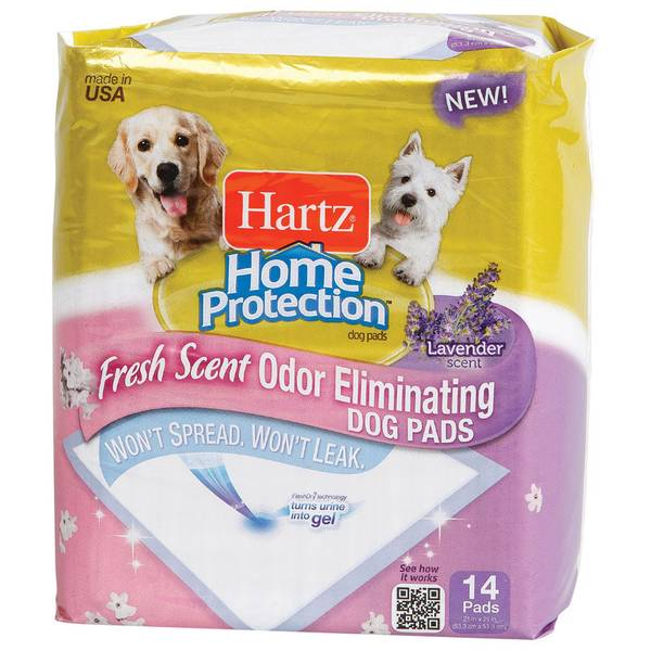 Home Protection Odor Eliminator Dog Pads 14 Pack