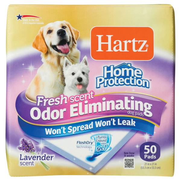 Home Protection Odor Eliminator Dog Pads 50 Pack
