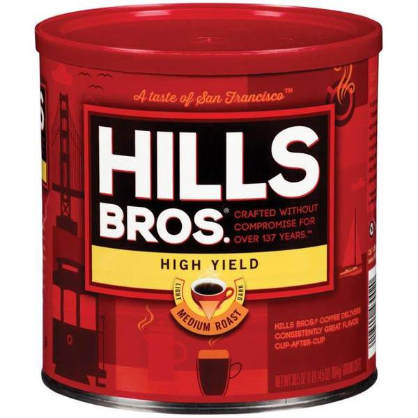 High Yield Medium Roast Ground Coffee
