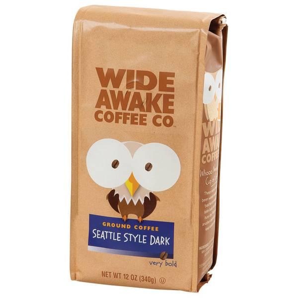 Seattle Dark Style Ground Coffee