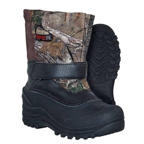Boys' Camouflage Toronto Snow Boots