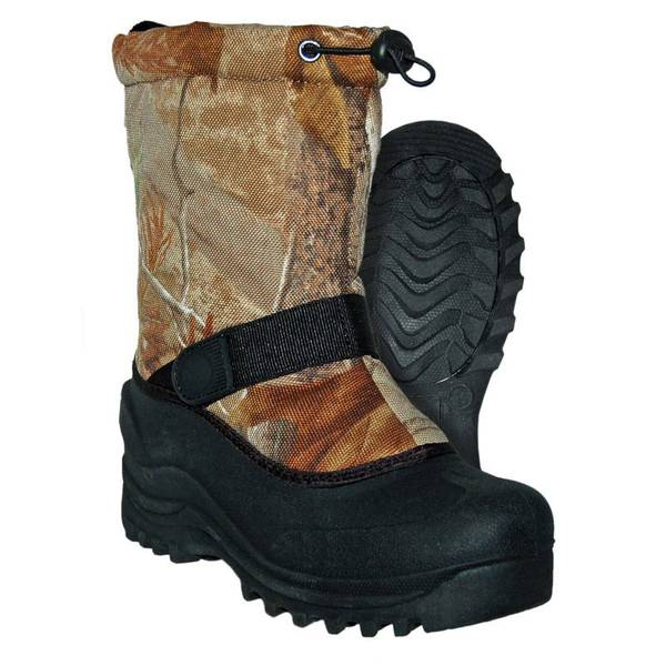 Boys' Camouflage Norte Snow Boots