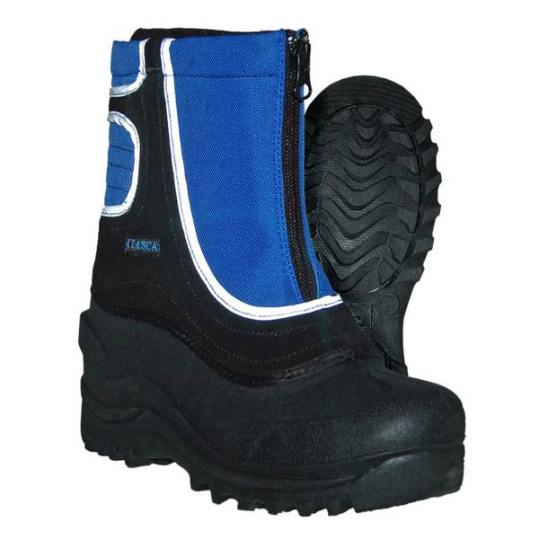 Boys'  Blue & Black Snow Stomper Snow Boots