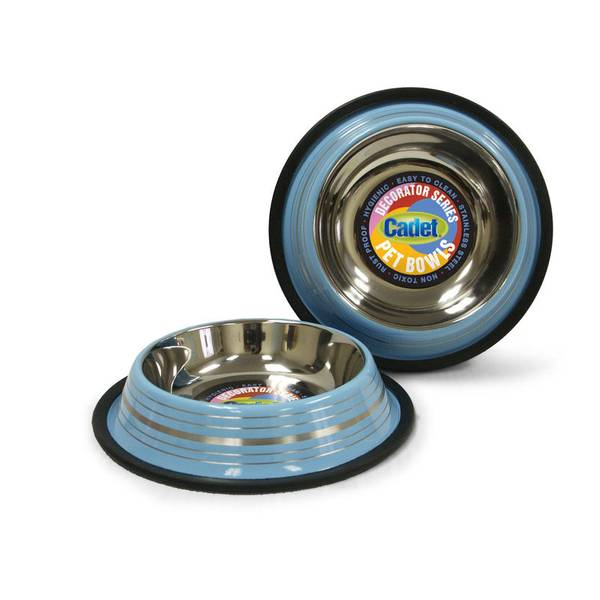 Non-Skid Stainless Steel Dog Bowl