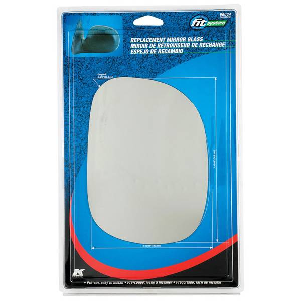 Ford Fit System Replacement Mirror Glass