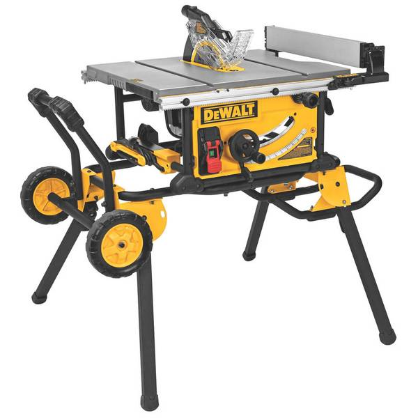 Dewalt jobsite table saw and rolling stand jobsite table saw and rolling stand greentooth Choice Image