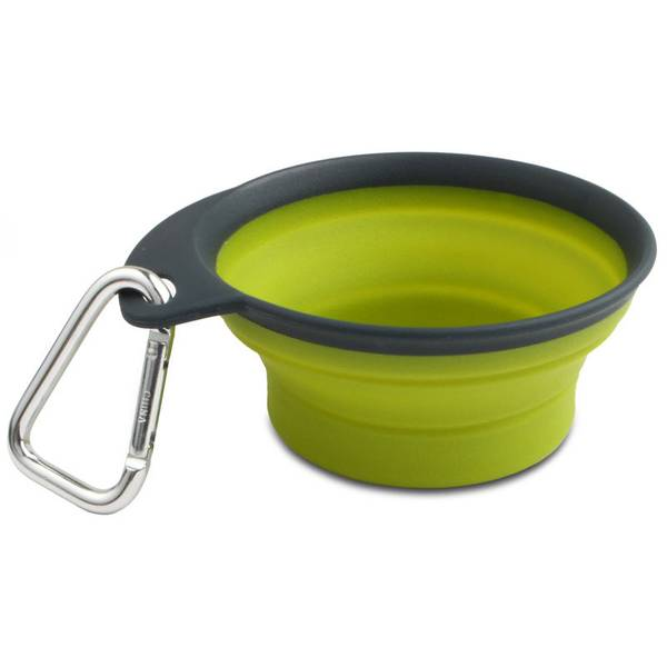 1 Cup Collapsible & Expandable Travel Dog Feeder